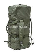 Lot 1,2,3,4,5 US Army Military Deployment Duffle Flight Sea Bag Back Pack OD VGC