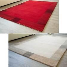 Manipur - handgearbeiteter Gabbeh Teppich aus reiner Schurwolle in 2 Farben