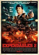 Cartel De Cine Los Indestructibles 2 la opción - 12-A4 y A3