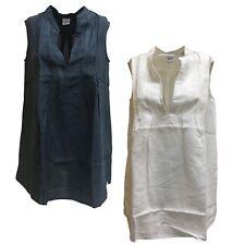 ASPESI camicia donna senza manica mod H813 C195 100% lino