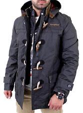 Goodyear Herren JOPLIN Winter Männer Kapuzen Mantel Jacke GY-400104 Schwarz