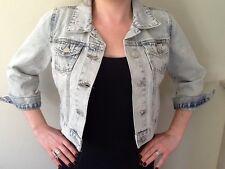 Women's Jean jacket,Miss Selfridge,sizes 4-16,colour vintage,rrp £40.00