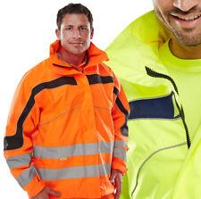 Eton UNISEX Hi Vis/Viz Class3 GORT Jacket Coat Breathable Waterproof Windproof