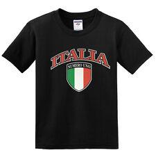 NEW! ITALIA Numero Uno Italian Flag Logo T-shirts