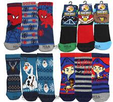 NEW Kids Boys Socks,Spiderman,Frozen Olaf,Angry Bird,Captain Jake,Christmas Gift