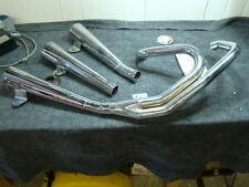 EPS14808 Revtec Supertrapp exhaust pipes mufflers Harley Sportster XL FXR FXRT