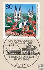 BRD 1996: Halberstadt Nr. 1846 mit dem Bonner Ersttags-Sonderstempel! 1A! 1510