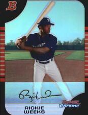 2005 Bowman Chrome Draft Refractors Baseball Card Pick