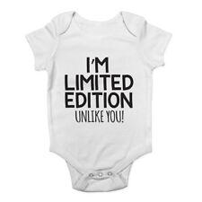 I'm Limited Edition Unlike You Boys Girls Baby Vest