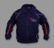 Man's Ford ST Racing Fleece Jacket Sport Embroidered Polar, Fan Merchandise,