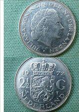 PAYS-BAS HOLLANDE 2,5 GULDEN 1972