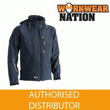 Herock Poseidon Water-Repellent Softshell Jacket Navy Blue