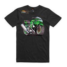Men's T-shirt, Kawasaki ZX6R, super bike. AS Colour shirt bike enthusiast