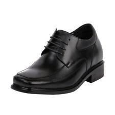 """Men's Height Increasing Shoes Lightweight Comfy Men Dress 3"""" Tall, KL600 (EE)"""