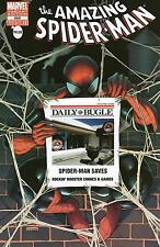 AMAZING SPIDERMAN 666 RARE ROCKIN ROOSTER COMICS & GAMES BUGLE VARIANT NM