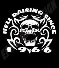 50 Aniversario Camiseta personalizar con el año de elección Infierno elevar desde.......
