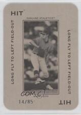 2005 Donruss Throwback Threads #PG-3 Barry Zito Oakland Athletics Baseball Card
