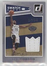 2015-16 Panini Donruss Swatch Kings #26 Eric Gordon New Orleans Pelicans Card