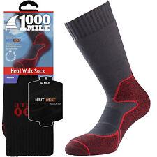 1000 Mile Winter Blister Free Heat Absorbing Walking Mens Double Layer Socks
