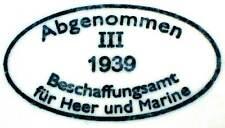 Deutsch Helm M35 1939 III Abnahmestempel Shell Stamp SE Q ET Casque allemand