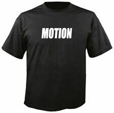 MOTION BLACK T SHIRT. performance, baldwin, nova, camaro, vega, chevelle, ss,