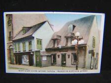 Antique POSTCARD Montcalm's House QUEBEC, CANADA
