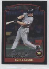 2003 Bowman Chrome #144 Corey Koskie Minnesota Twins Baseball Card