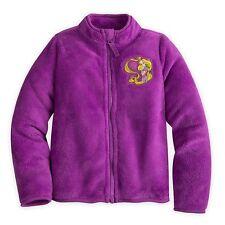 Disney Store Princess Tangled Rapunzel Fleece Jacket Girl Size 5/6