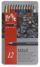Caran D'ache Pablo Coloured Pencil 12 Colour Tin