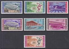 Umm Al Qiwain Sc 19-33 MNH. 1964 Tokyo Olympics + 1965 JFK Memorial, 2 cplt sets