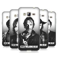 Official AMC The Walking Dead filtré portraits Gel Case For Samsung Phones 3