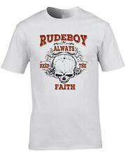 Rude Boy Music T-Shirt Mod Reggae 2-Tone 70's 60's Rudeboy Skin Head Skinhead