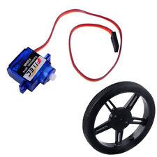 1/2/4pcs Feetech FS90R 360 Degree Continuous Rotation Micro Robot Servo Wheel