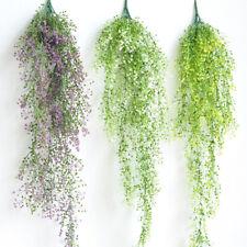 Artificial Fake Hanging Flower Vine Plant Wedding Indoor Outdoor Garden Decor