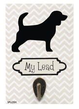 Precious Pets Dog Silhouette Lead Holder / Hook 30 x Breeds