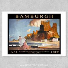A3 The Norfolk Broads LNER Railway Travel RETRO Posters Print wall art #12