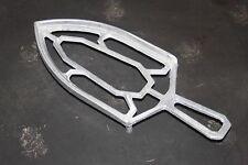 Repose fer à repasser en alu - aluminium - support - semelle - art déco