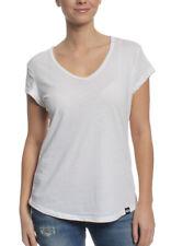 Superdry Camiseta T-Shirt Women BURNOUT VEE Optic