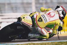 Pramac Racing Randy De Puniet Signed Photo 12x8 2011.
