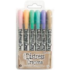 Tim Holtz Distress Crayon Set-Set #5 Dbk51756