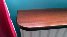 Mahogany Veneered Radiator Shelf | 600mm - 2400mm | bespoke sizes available