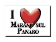 CALAMITA EMILIA ROMAGNA FRIDGE MAGNETE SOUVENIR I LOVE MARANO SUL PANARO (MO)