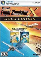 Microsoft Flight Simulator X: Gold Edition (PC: Windows, 2008) Factory Sealed