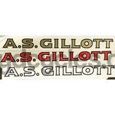 Gillott D/T nel blocco.
