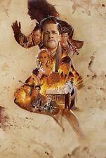 Inglourious Basterds Movie Poster T340 |A4 A3 A2 A1 A0|