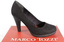 Marco Tozzi 22441 Zapatos De Tacón Mocasines mocasínes Negro Suave Suela