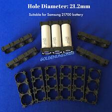 3x 21700 battery Spacer Frame Radiating Holder Plastic Bracket for SAMSUNG 21700