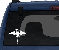 Dragon Top View Winged Medieval Mythology Symbol  - Car Tablet Vinyl Decal