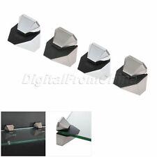 Adjustable 3mm-16mm Glass Shelf Bracket Wood Acrylic Clamp Clip Shelves Support