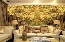 3D Golden Avenue 764 Wall Paper Murals Wall Print Wall Wallpaper Mural AU Kyra
